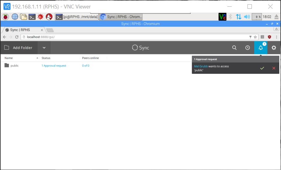Raspberry Pi Home Server v2: Resilio Sync   MelGrubb ToBlog()
